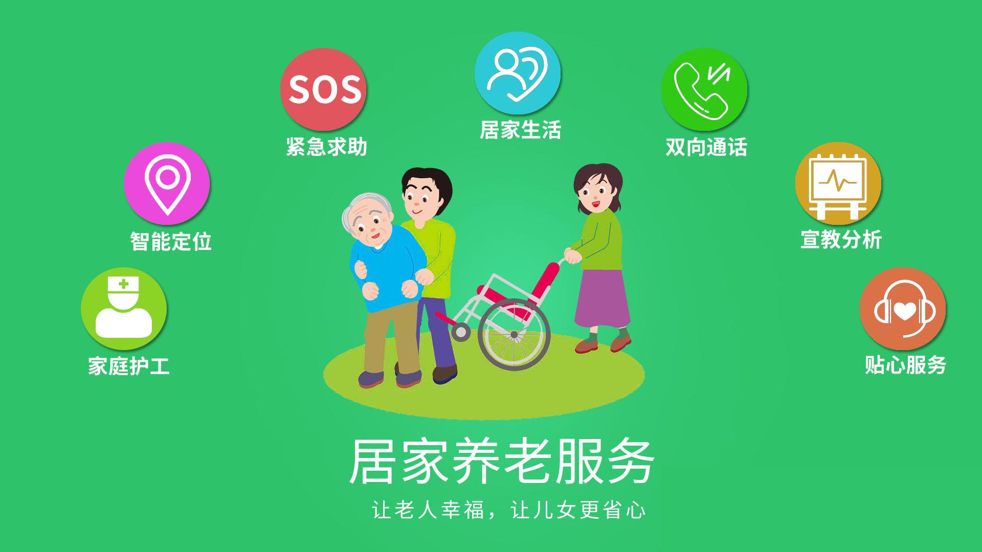 智慧养老产品要服务化、便民化、适老化!